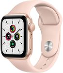 Купить Apple Watch SE GPS 40mm Aluminum Case with Sport Band Gold/Pink (MYDN2RU/A)